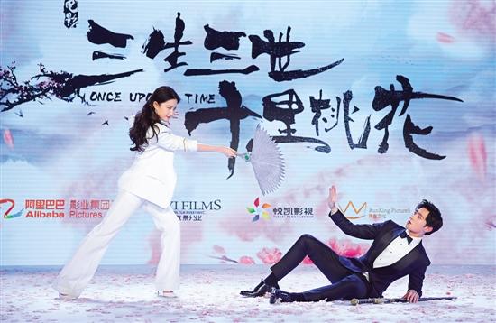 刘亦菲杨洋就算演到精神分裂 也要保持盛世美颜