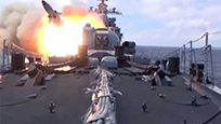 燃爆!解放军海军节武器展示 一次看个够