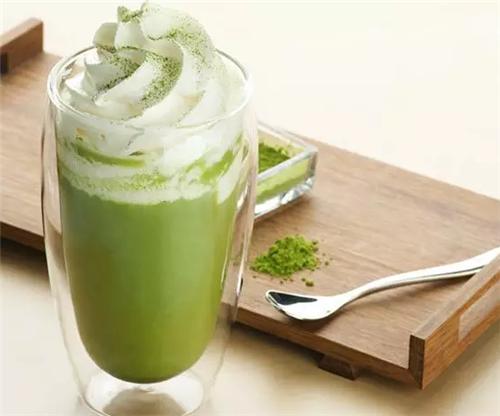 抹茶星冰乐『32元/杯』细致研磨,清脑提神,迷恋这种日式小清 饮品