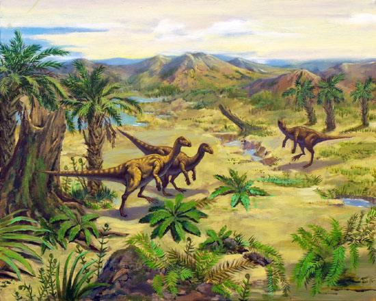 天台要建省级恐龙地质公园 曾是晚白垩纪恐龙的乐园