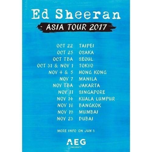 英国歌手艾德·希兰将赴首尔开唱 时隔2年再访韩