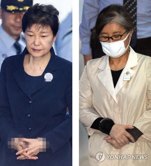 朴槿惠今日首次站上审判台 与崔顺实同台受审