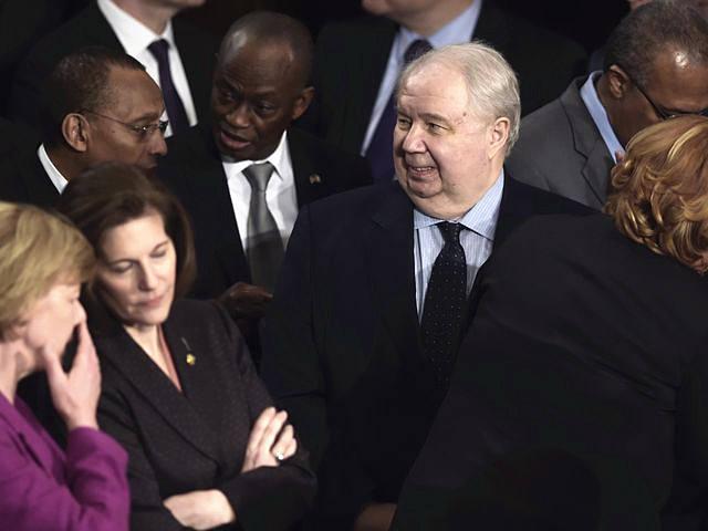 """俄罗斯驻美大使将被撤换 美媒称其""""头号间谍""""(图)"""