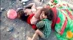 母亲横死路旁 一岁男童趴尸体上吸奶