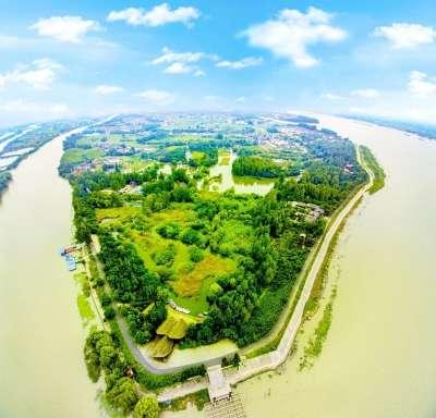 凤凰岛新添湿地科普馆 游乐场恢复成浅水森林湿地