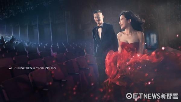 吴中天杨子姗宣布10日举行婚礼 嘉宾名单尚未公布
