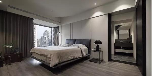 黑白灰的家装设计,简约的奢华