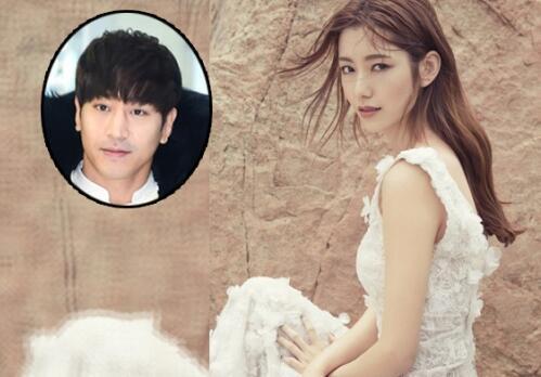 下月嫁神话Eric 罗惠美为杂志拍摄抢先穿婚纱