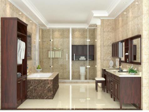 安华卫浴,卫浴定制,装修风格