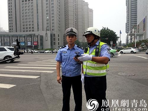 青岛开展交通违法整治行动 20处道路交叉口集中查处