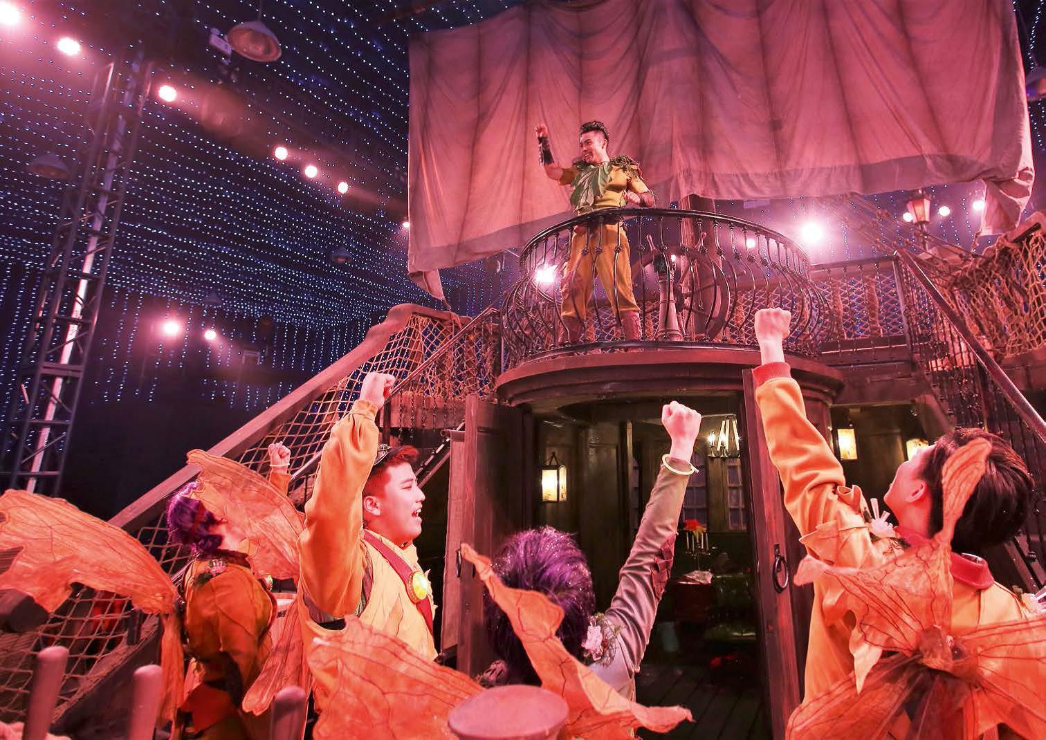 """《彼得・潘的冒险岛》和戏剧""""游乐场"""""""