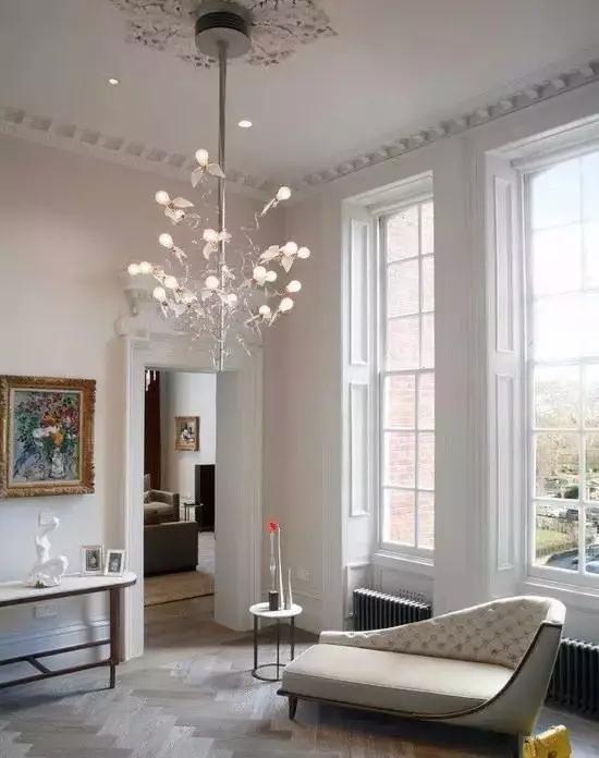 客厅 石膏线,竟然可以这么美?