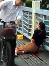 男子捅伤2女子后跳河