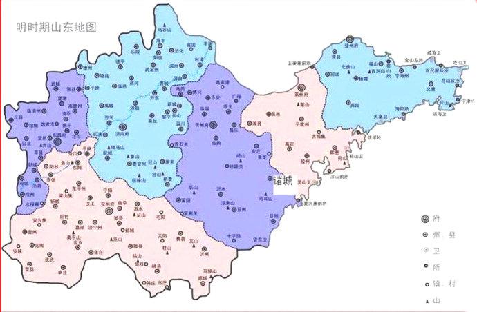泰安在明朝时期为济南的所辖州?你知道吗?