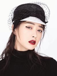 蒋欣时尚杂志封面曝光