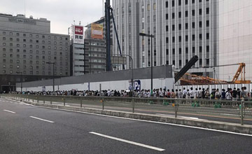 日本:万人排长队再摇号买游戏机