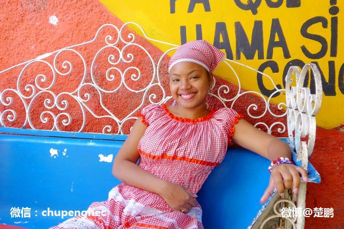 哈瓦那女郎 古巴最美丽的风景