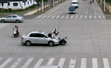 撞了闯红灯的行人或非机动车 要赔钱吗?