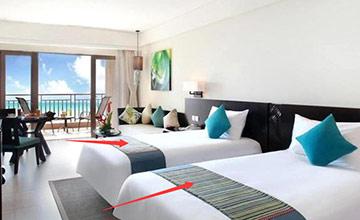 为啥酒店的床尾要放一块布? 到底该不该揭开