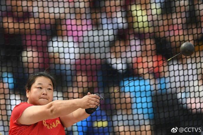 中国收获世锦赛首枚奖牌 王铮链球摘银张文秀第四