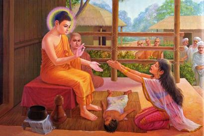 女人因儿子病逝伤心欲绝 佛陀用一件事让她幡然醒悟