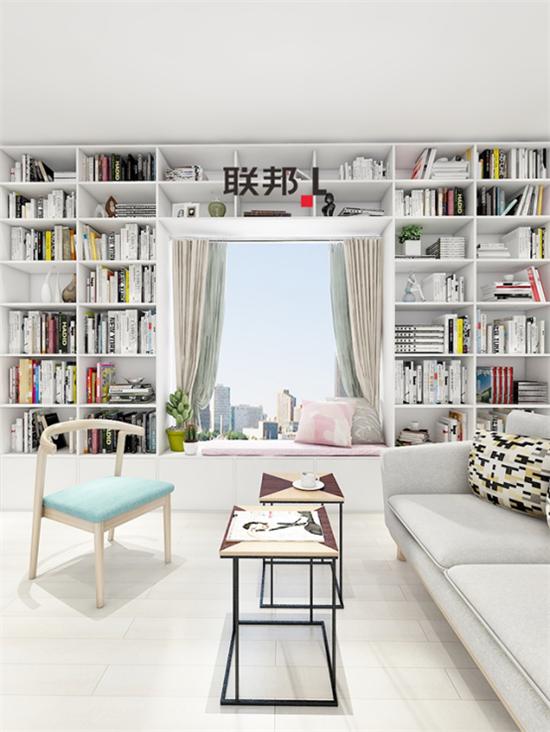 联邦家私,书房,定制家居