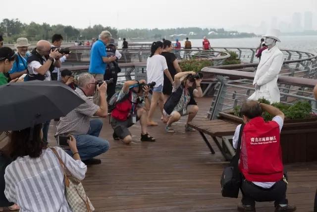 世界摄影大咖用镜头聚焦青岛西海岸新区之美