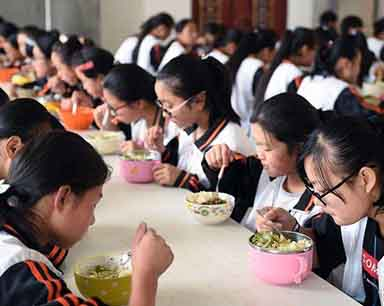国家卫计委发布学生餐营养指南 学生应这样吃