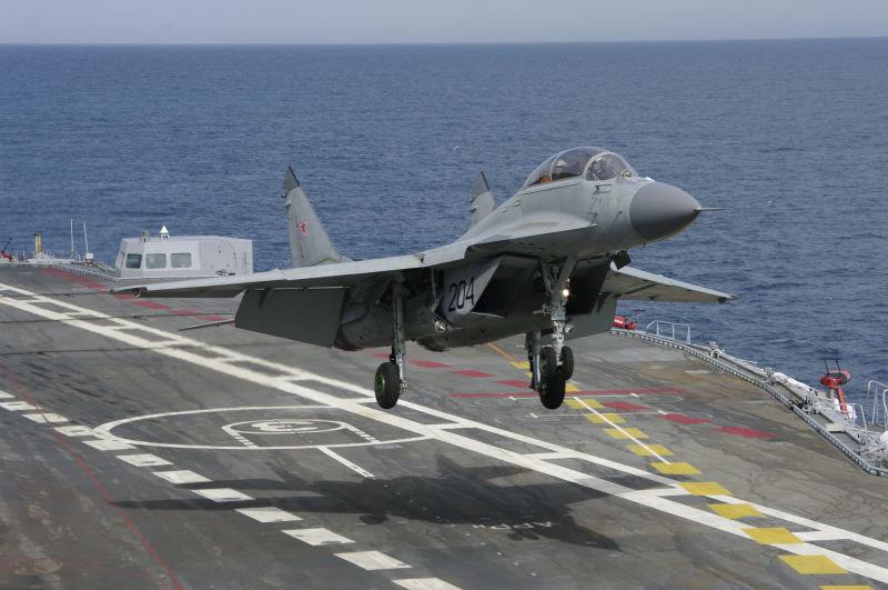 印度不满米格29K?俄企:印度航母没其他选择(图)