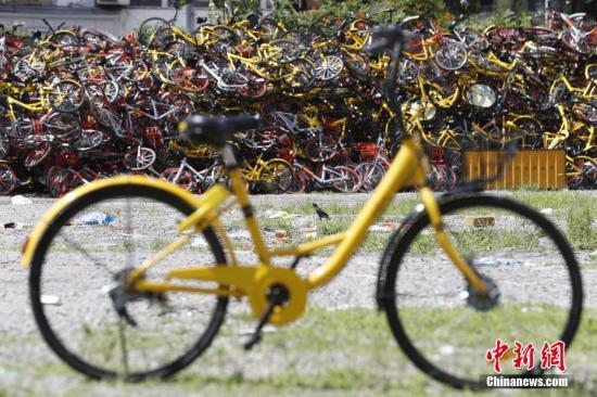 """共享单车投放""""急刹车"""" 深圳上海等城市暂停投放"""