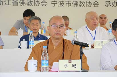 学诚法师:太虚大师是世界佛教运动的推动者