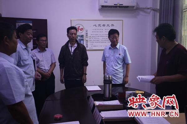 周口中院:李志增院长到郸城法院调研指导工作