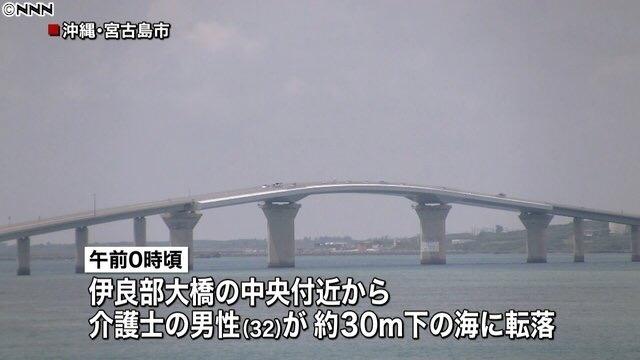 男子求婚成功太兴奋 下一秒跌下30米大桥身亡