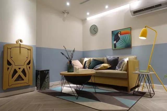 梦想改造家   6万预算设计师diy改造,38㎡半地下室蜕变梦想阳光居所