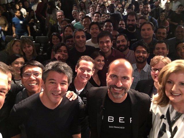 滴滴、软银将敲定对Uber投资 估值维持在近700亿美元