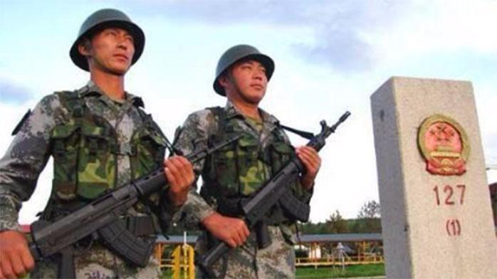 军媒公布中越边境军队霸气喊话