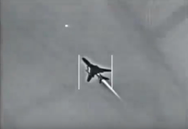 美军击落叙利亚战机画面首次曝光 (高清组图)