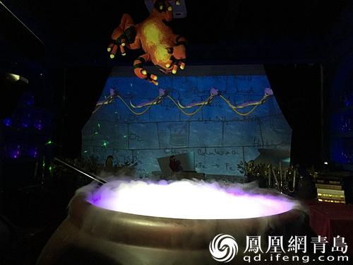 据青岛森林野生动物世界工作人员介绍,国庆期间,不仅有神秘的魔法屋