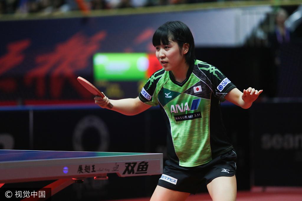平野喊出世界杯卫冕宣言 日媒爆她首次讨厌乒乓球