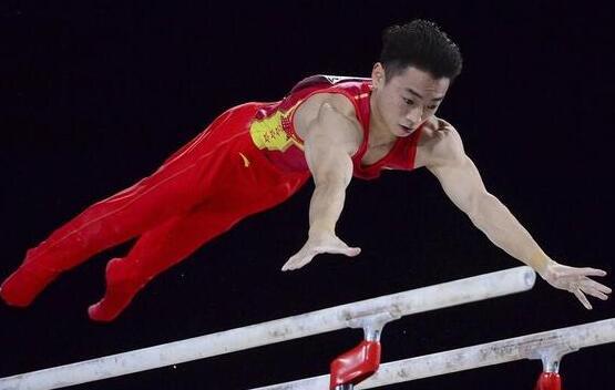 第三金!体操世锦赛邹敬园双杠夺冠 林超攀第五