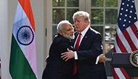 美国务卿大拍印度马屁:美中关系永远比不上美印关系