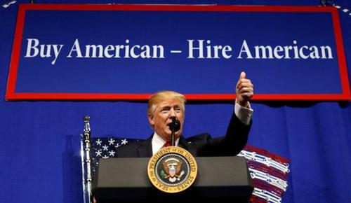 特朗普买美国货、雇美国人政策 日本也看不下去了