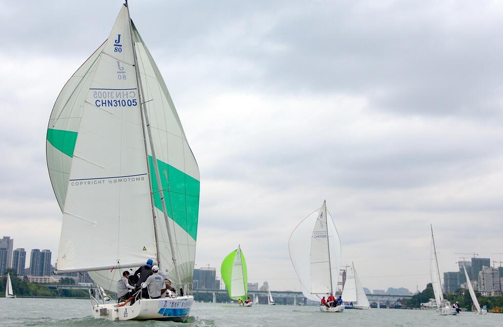 大美柳州7载耕耘 打造中国最美内河帆船赛