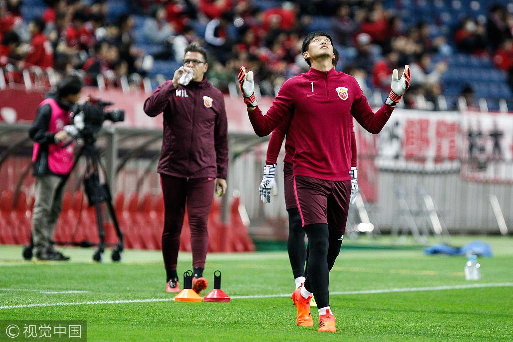 浦和VS上港颜骏凌王燊超回归 超4万日球迷造魔鬼主场
