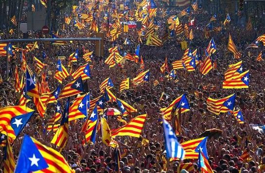 真要独?西班牙媒体:加泰罗尼亚23日将宣布独立