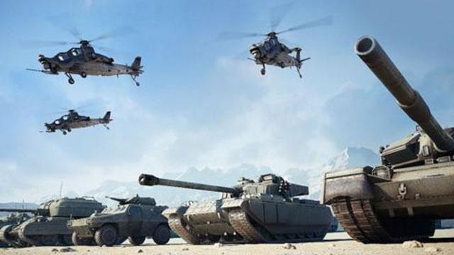 现在中国陆空军到底有多强?