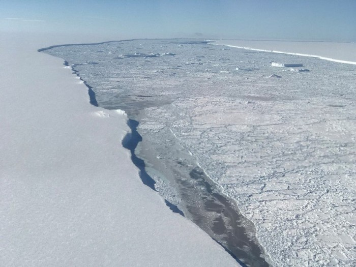 NASA发布让人惊叹的全新南极照片 (组图)