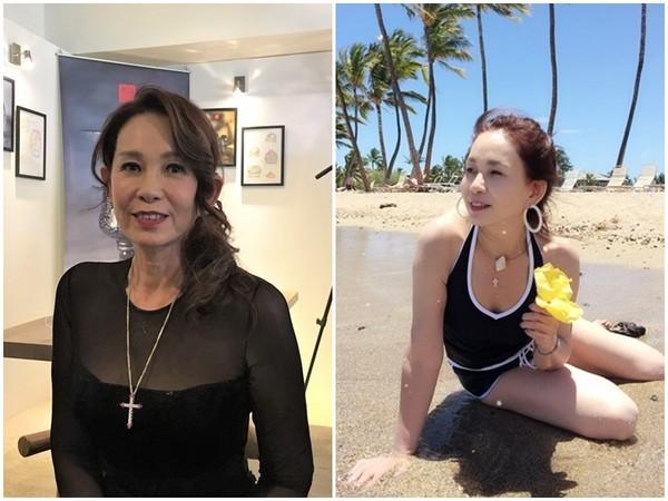 """60岁""""琼瑶女""""身材匀称神态自信 40年前就这样保养"""
