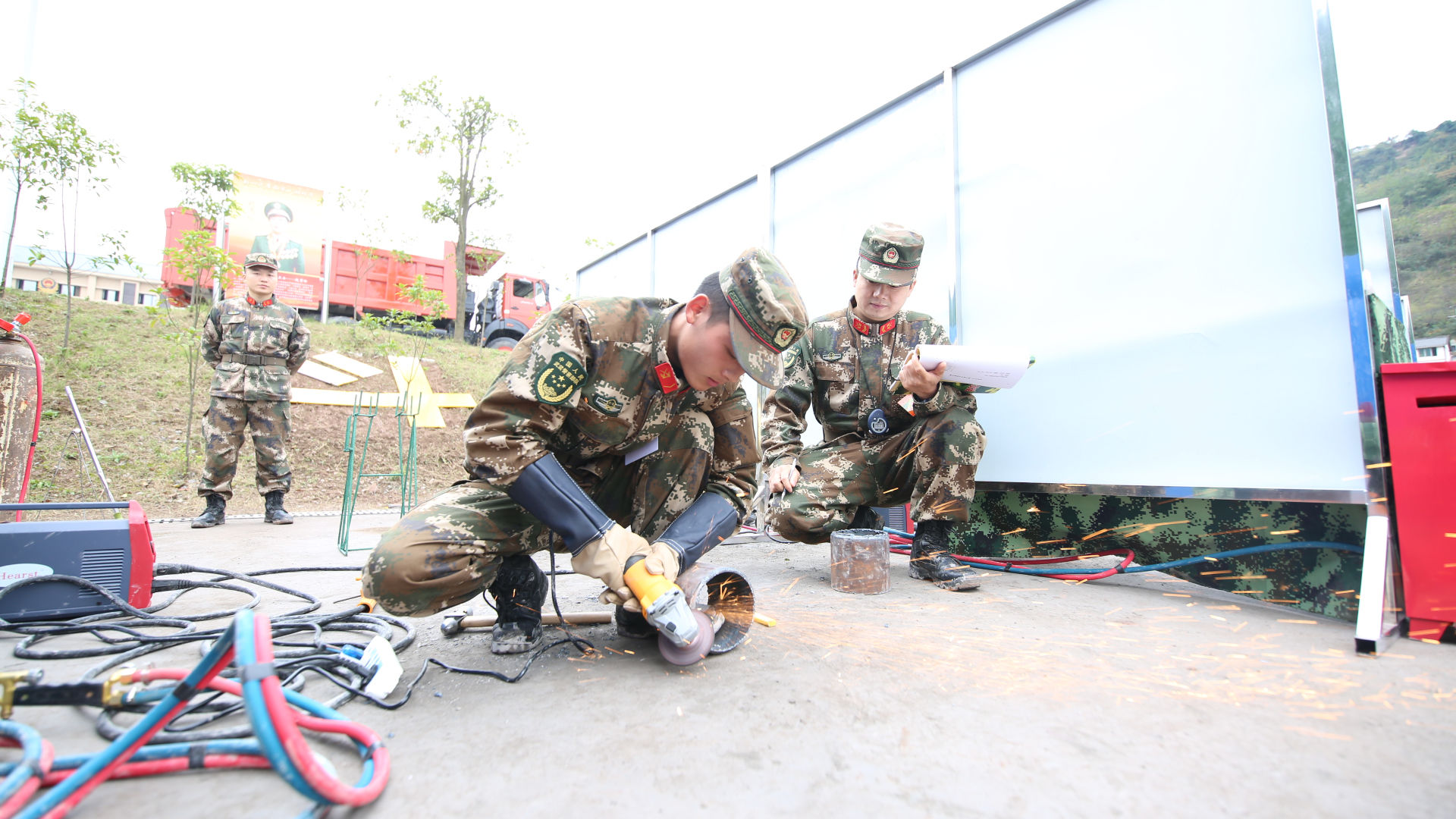 国家应急救援部队的专业比武现场竟然是这样