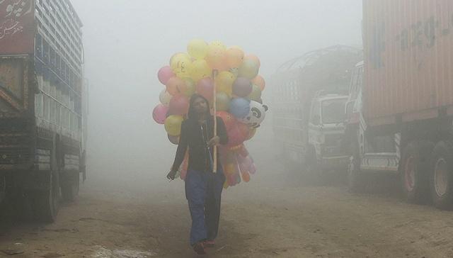 """PM2.5双双爆表,雾霾能让印度巴基斯坦""""走得更近""""?"""